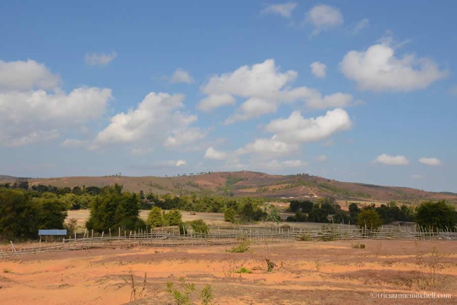 Plain of Jars Site 3 Landscape