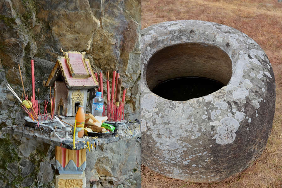 Plain of Jars Spirit House Laos