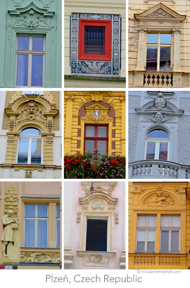 Plzen Czech Republic Windows