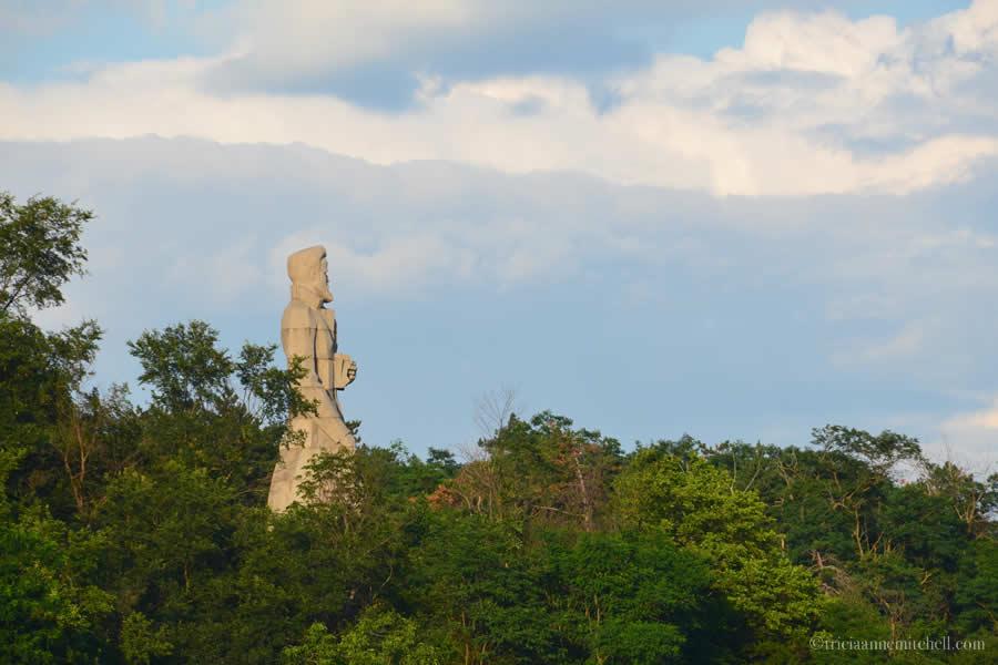 Statue of Hristo Botev, Kalofer, Bulgaria