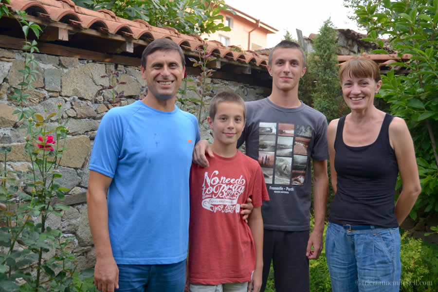 Stoyan and family