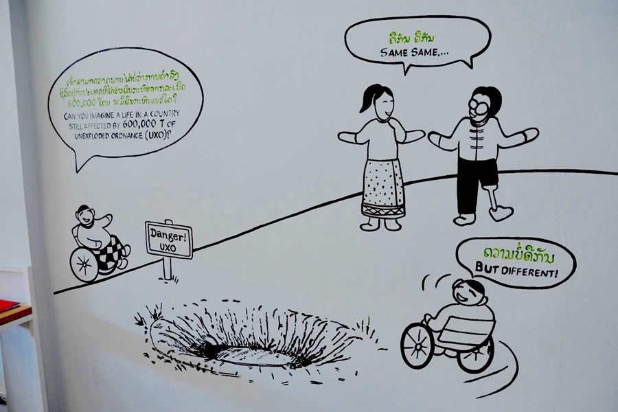 UXO Survivor Information Center Phonsavan Laos