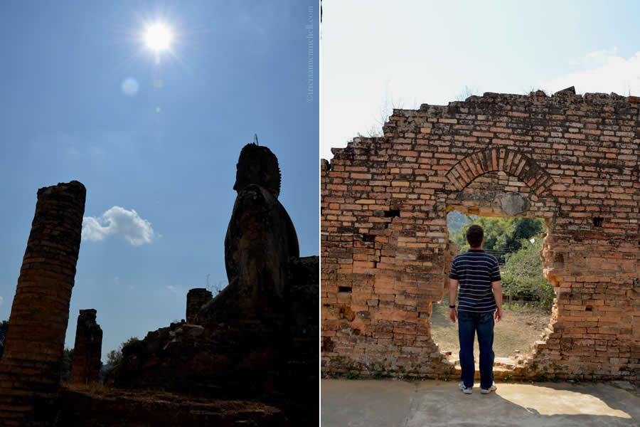 Wat Phia Wat Buddha and Temple Laos