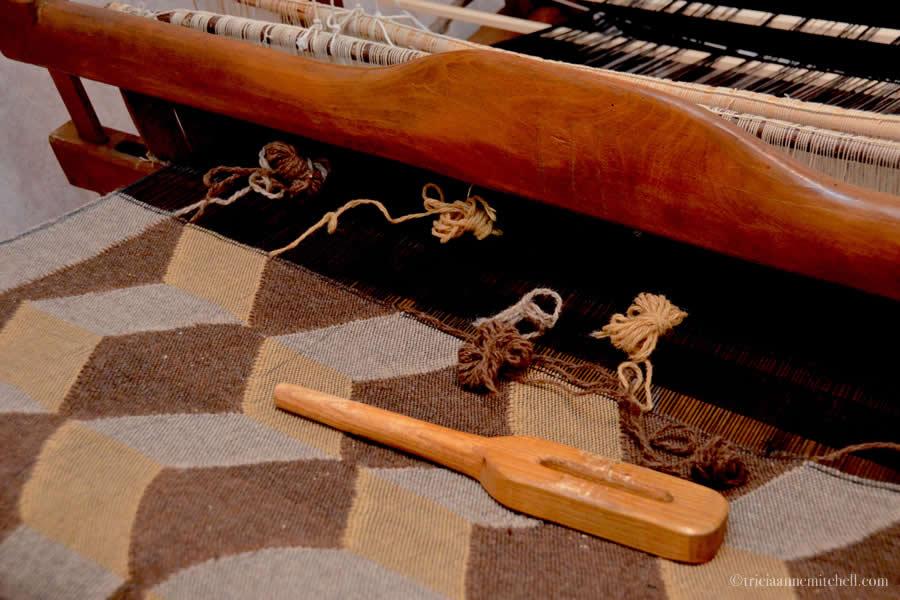 Weaving Bulgarian Rug