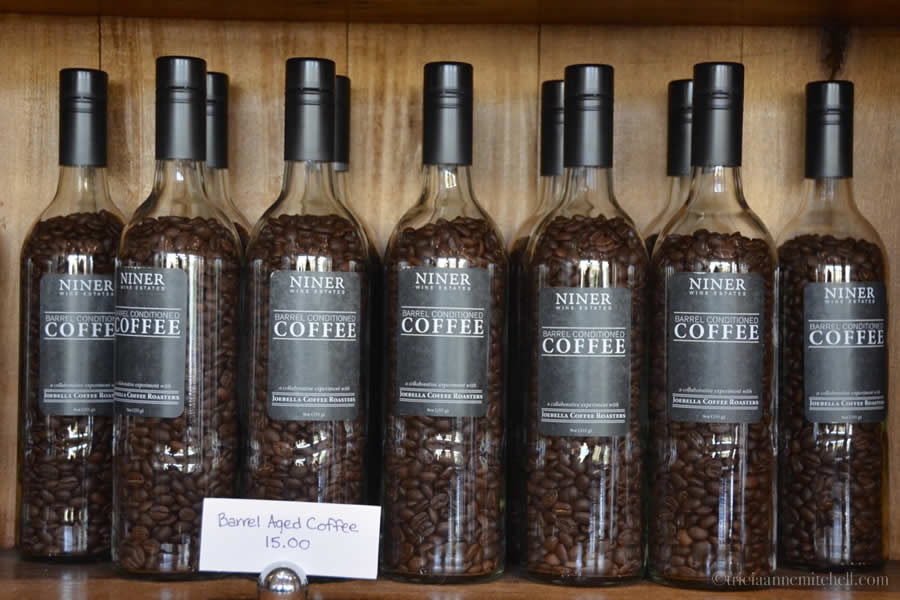 Barrel Aged Coffee Beans Niner Winery