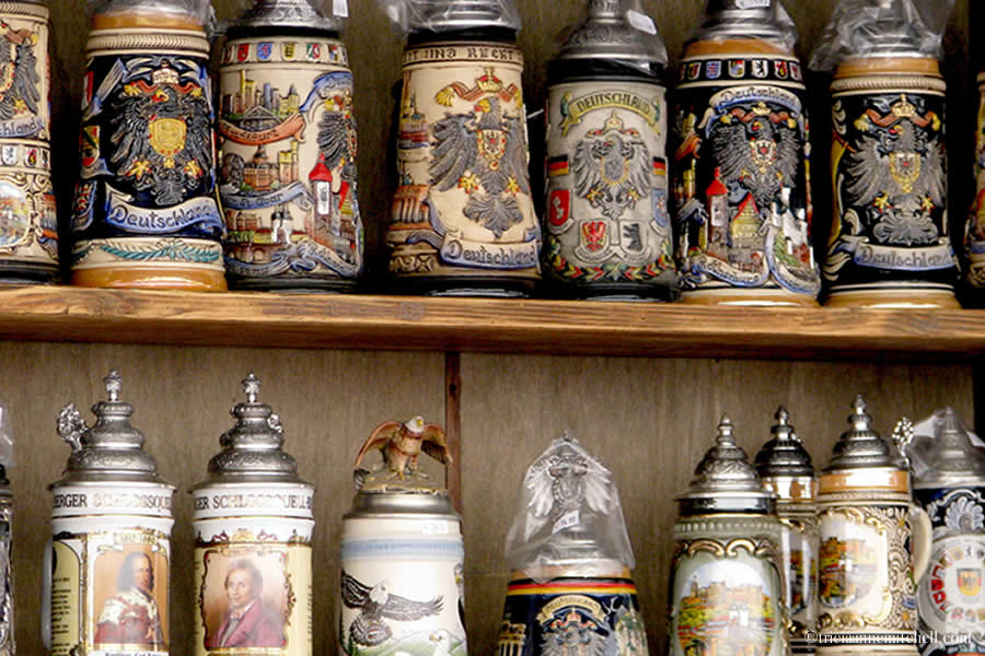 Beer Steins for Sale Heidelberg Germany