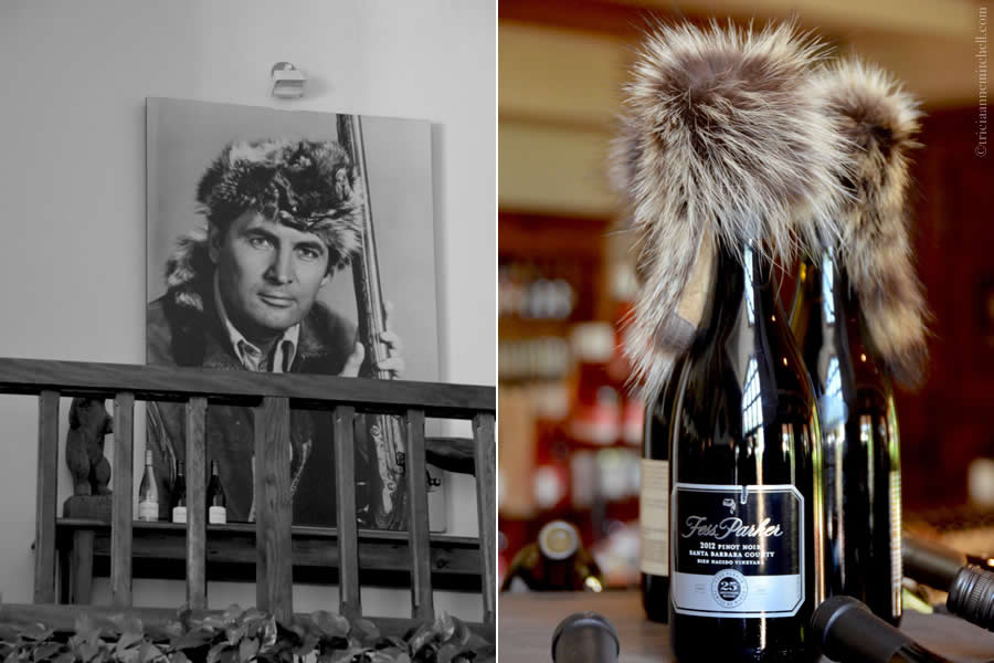 Fess Parker Winery Davy Crockett Furs