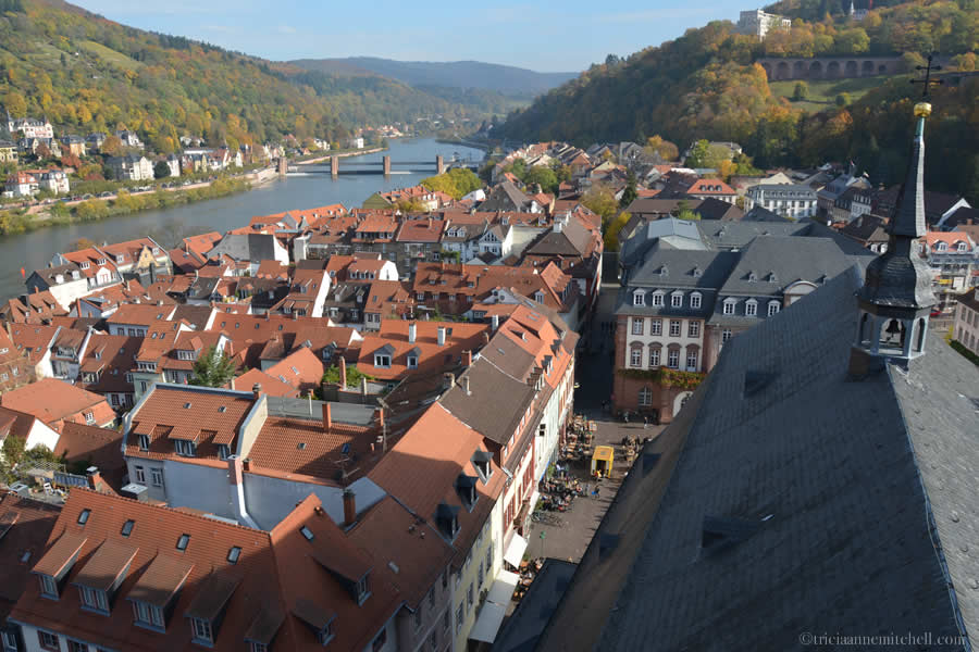 Heidelberg Castle Germany and Neckar