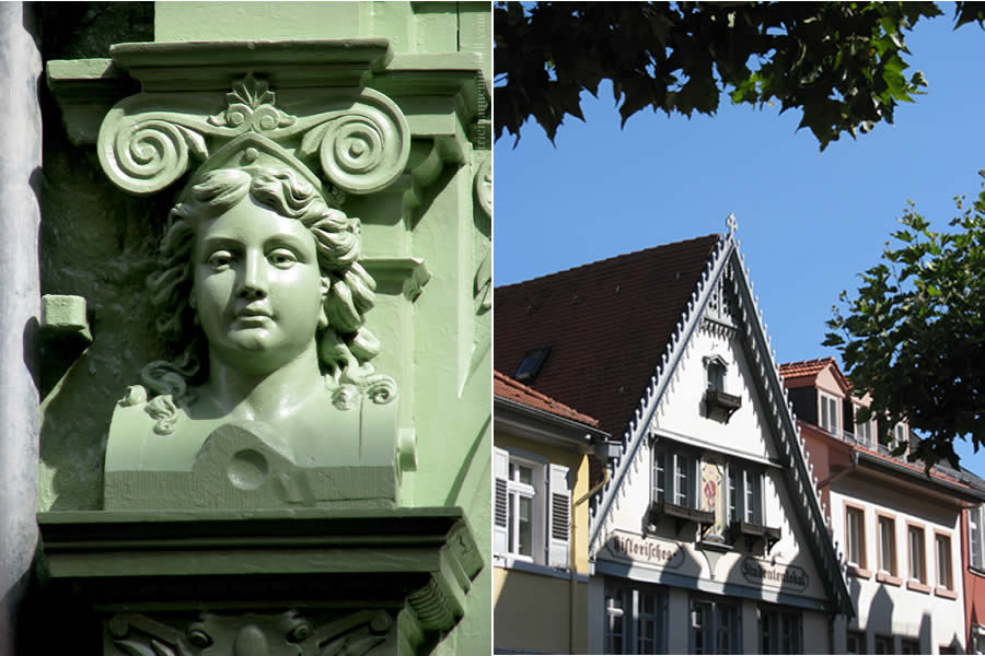 Heidelberg Hauptstrasse Architecture