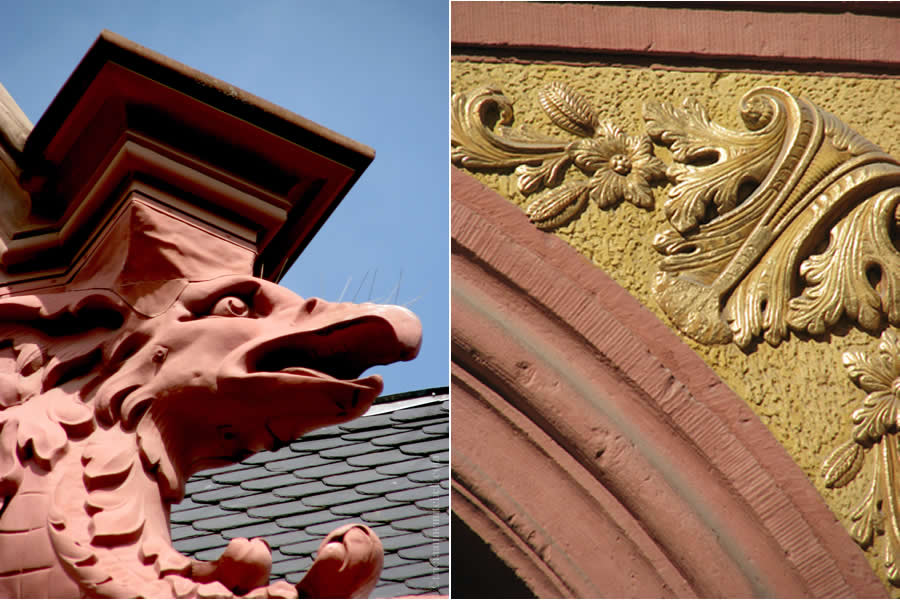 Heidelberg Hauptstrasse Dragon