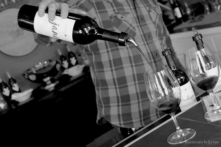 J Ludlow Winery Tasting