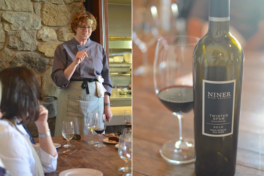 Niner Wine Estate Chef Maegen Loring