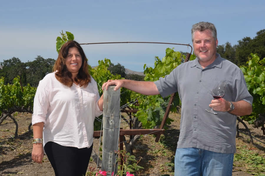 Santa Barbara Classic Wine Tours Founders Sherene and Kevin