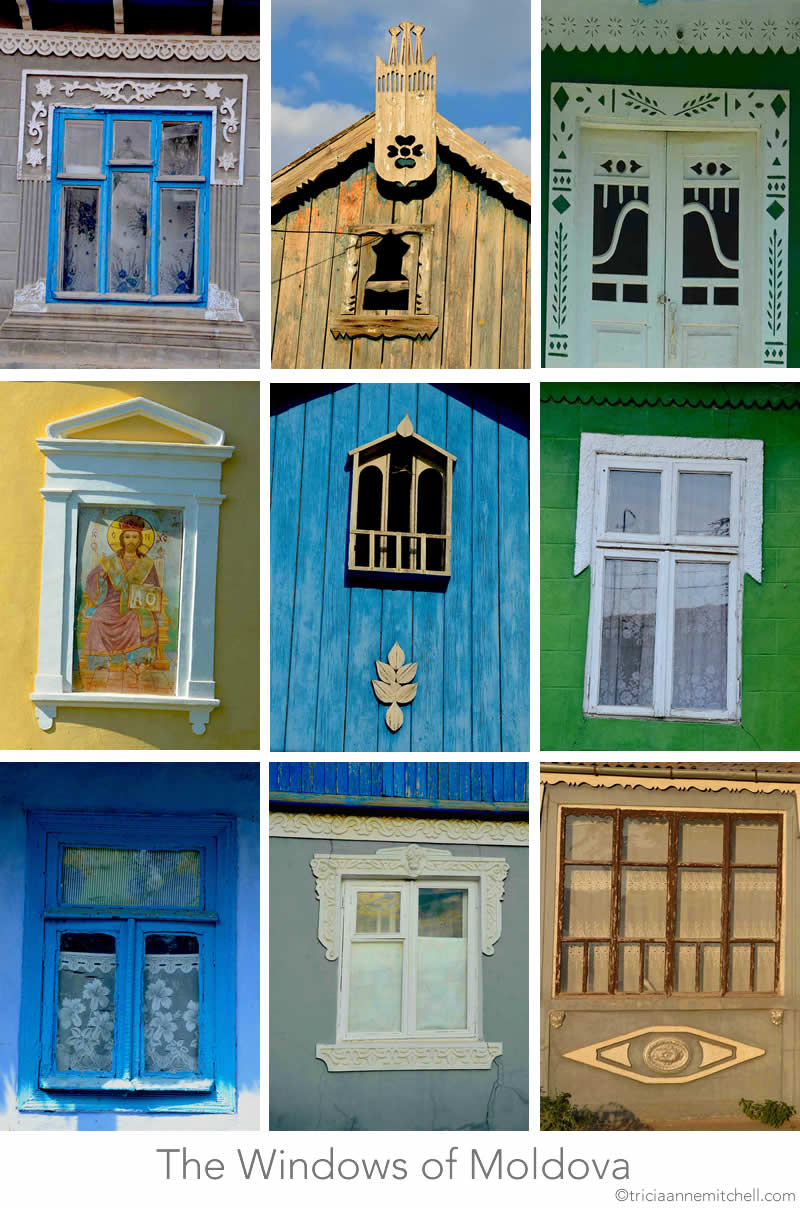 Windows of Moldova Architecture