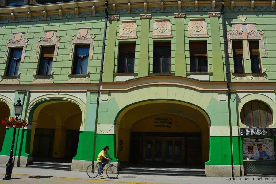 Art Nouveau Architecture in Subotica Serbia