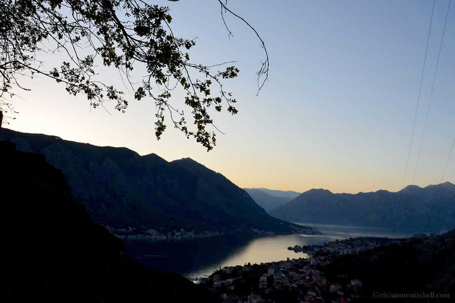Bay of Kotor After Sunset