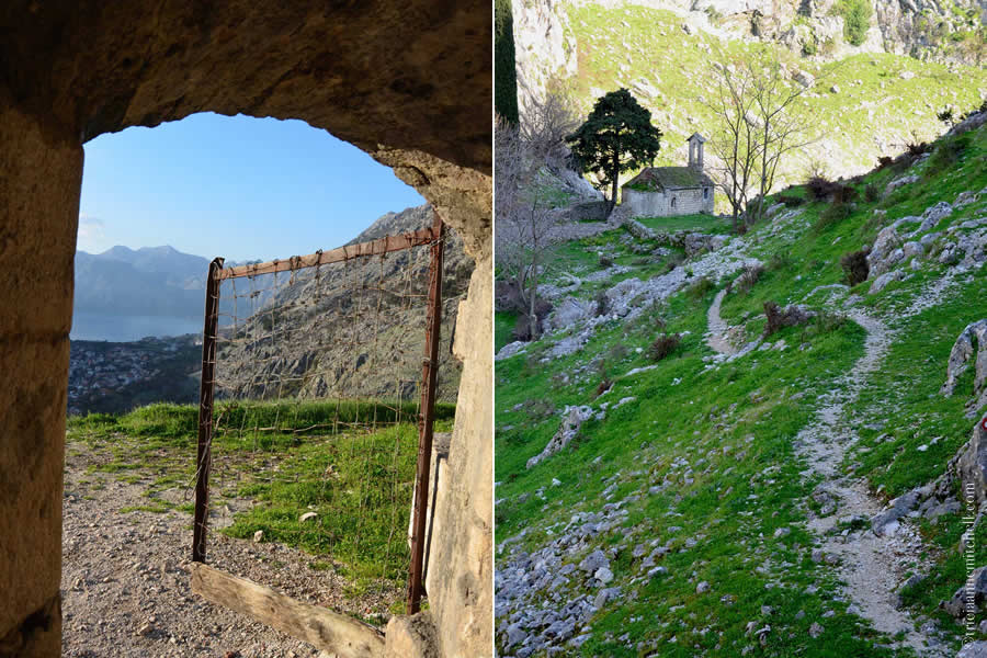 Behind Kotor Fortress Ruins