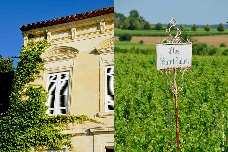 Clos Saint Julien Saint-Emilion Bordeaux