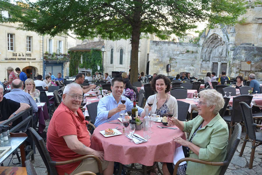 Dinner Saint-Emilion Restaurant
