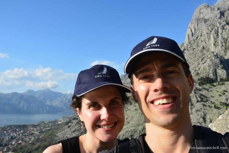 Hiking to Kotor Fortress Selfie