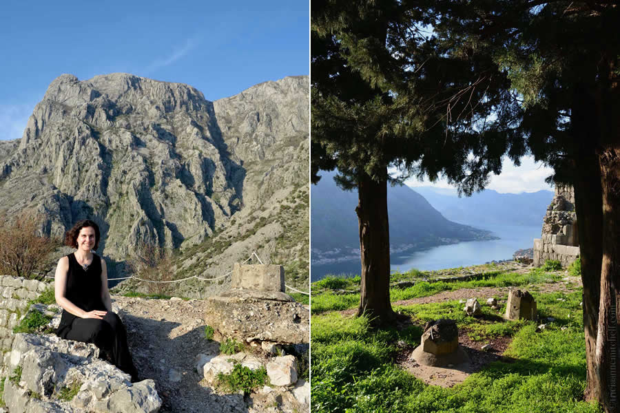 Hiking to the Kotor Castle Montenegro