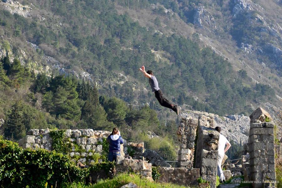 Kotor Fortress Hiking Training