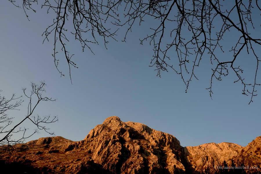 Kotor Mountain Sunset
