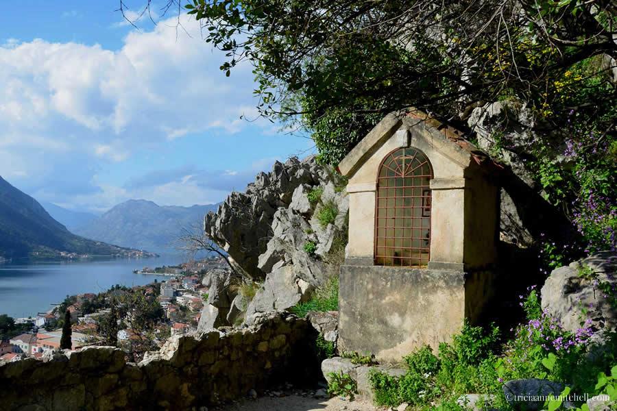 Kotor Prayer Shrine Hiking to Fortress