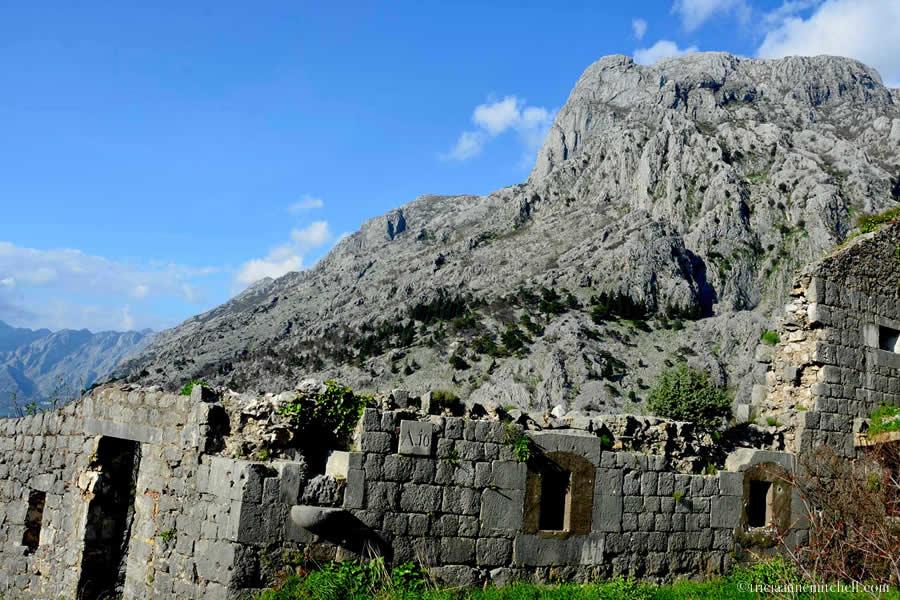 Remains of St John Fortress Kotor
