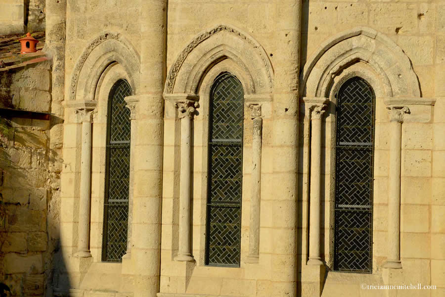 Saint-Emilion Church Windows