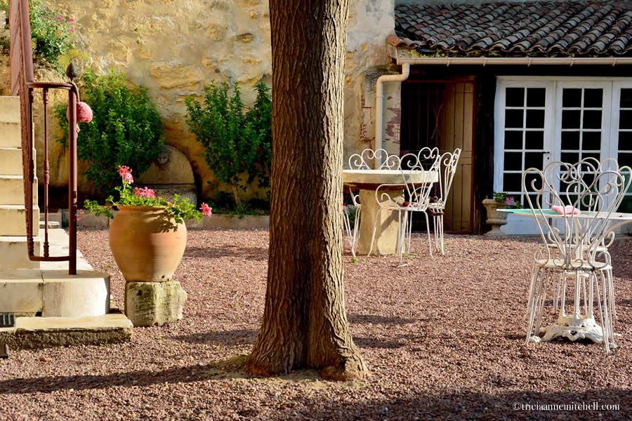 Saint-Emilion Courtyard