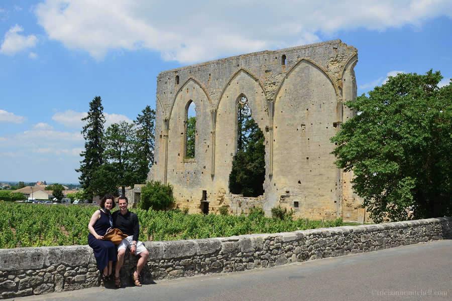 Saint Emilion Great Wall Dominican Convent Ruins