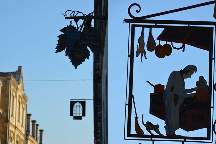 Saint Emilion Street Signs