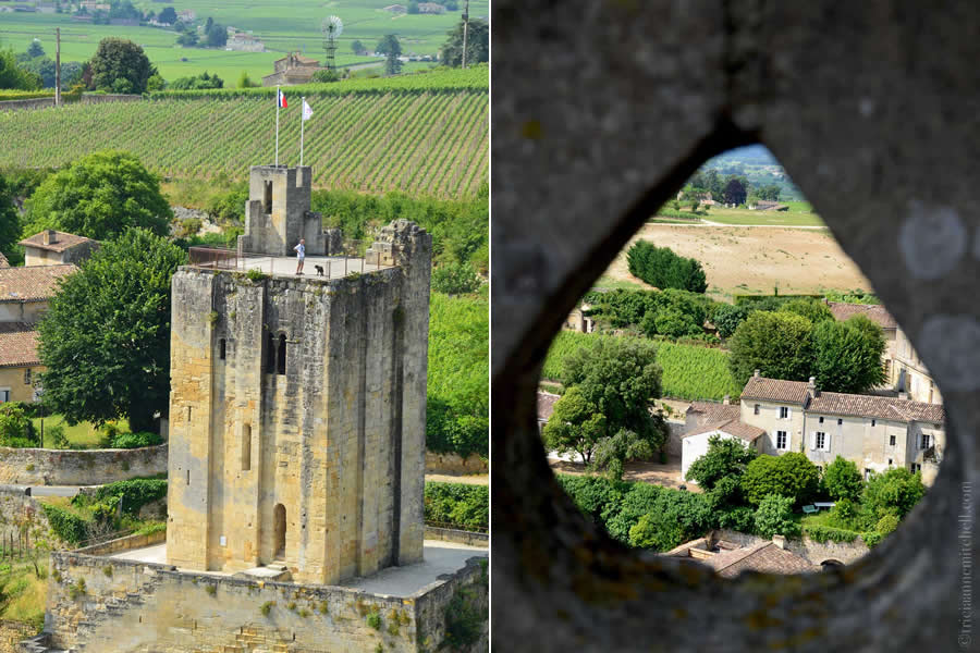 View from Saint Emilion Church