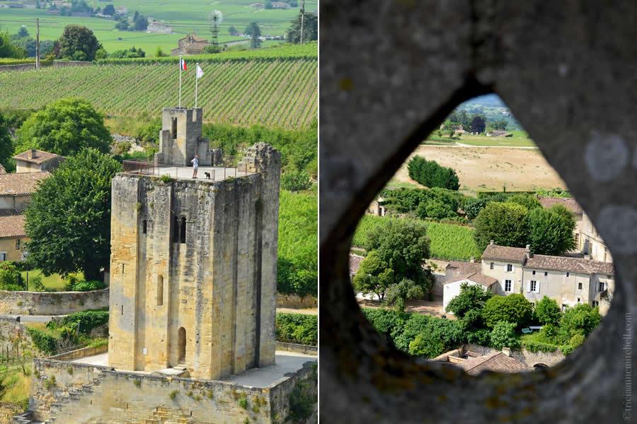 View from Saint Emilion Church