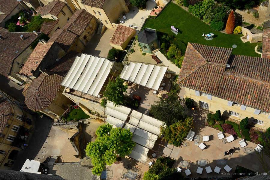 View from Saint-Emilion Church