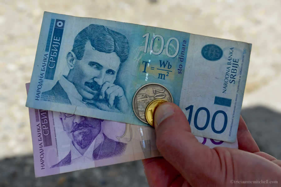Serbian Money Tesla