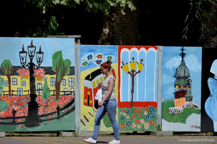 Subotica Serbia Street Scene