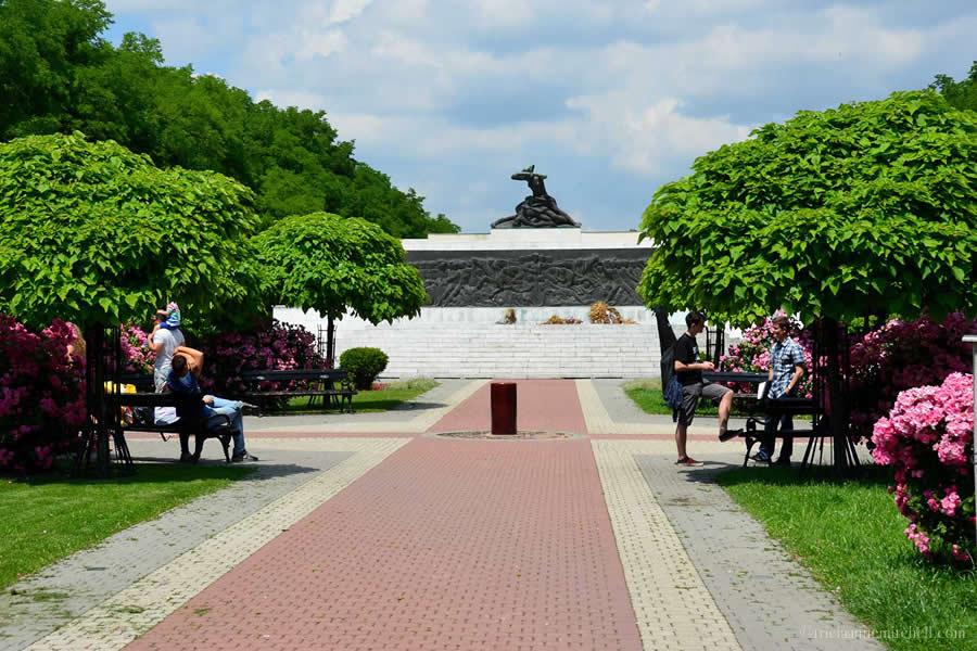 World War Memorial Subotica Serbia