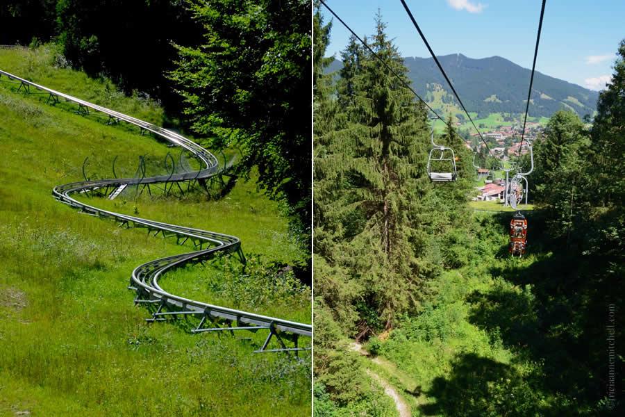 Alpine Coaster Oberammergau Rodelbahn
