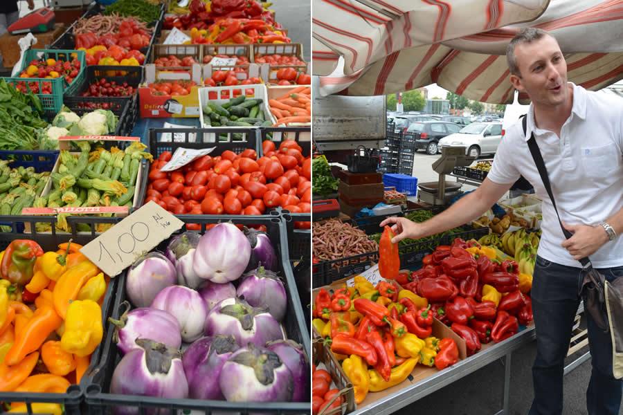 Asti Foodie Tour Fresh Market Italy