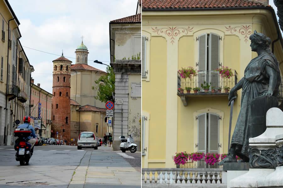 Asti Italy Towers