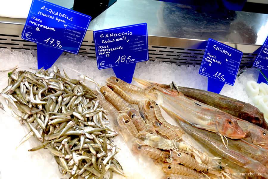 Fresh Fish Asti Market