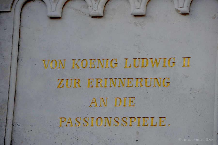King Ludwig Kreuzigungsgruppe Oberammergau