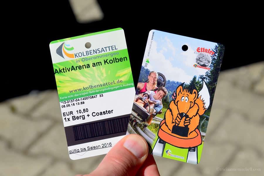 Kolbensattel Oberammergau Alpine Coaster Tickets