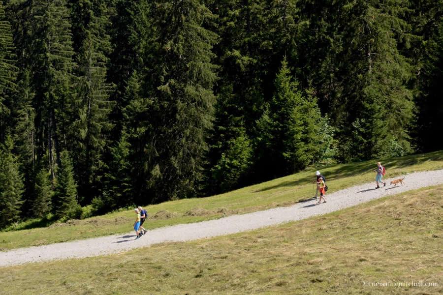 Kolbensattel Oberammergau Hiking