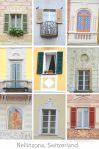 Windows Bellinzona Ticino Switzerland