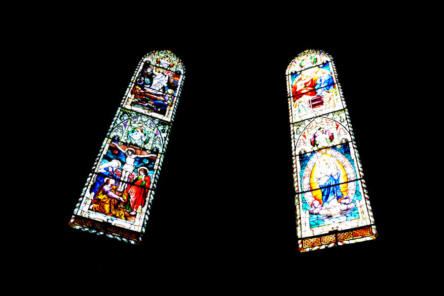 Alba Cathedral Stained Glass