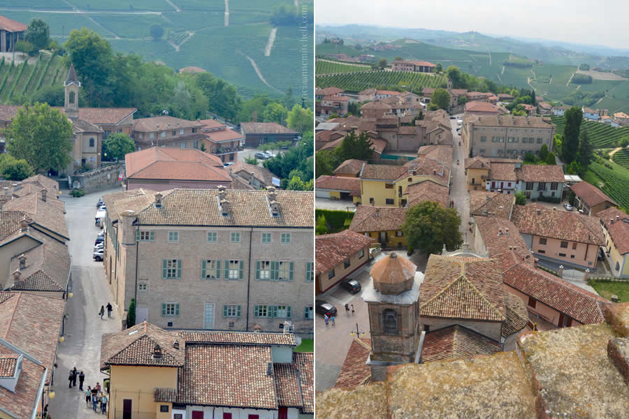 Barbaresco Italy Aerial View