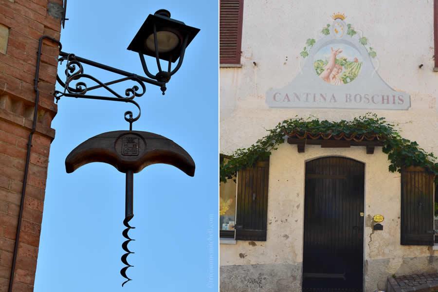 Barolo Italy Street Scenes